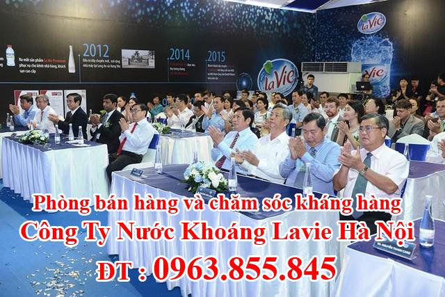 %*$. % Đại lý nước khoáng Lavie Quận Thanh Xuân Hà Nội